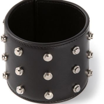 Saint Laurent studded cuff bracelet