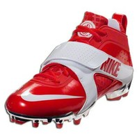 Nike Huarache 3 Neon Chrome - Challenge Red/White/Anthracite Lacrosse Cleats || LACROSSE.COM