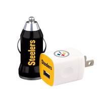 Mizco Pittsburgh Steelers 2-Pack Home and Away Chargers
