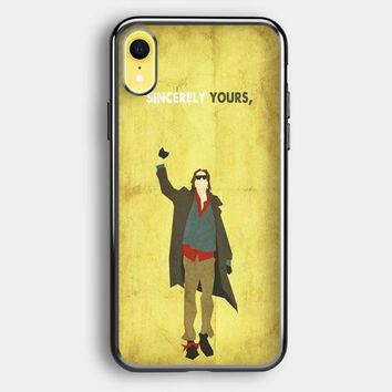 The Breakfast Club Sincerely Yours iPhone XR Case   Casefruits