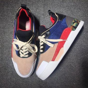 DCCK Cl Christian Louboutin Style #2111 Sneakers Fashion Shoes