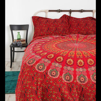 Indian Mandala Tapestry Duvet Cover Hippie Blanket