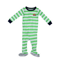 Carters Baby Boys Contrast Trim Footed Pajamas