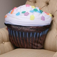 Cupcake Pillow | Gift Shop | SkyMall
