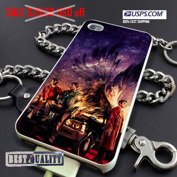 Supernatural Painting Art - personalized custom phone case cover cases art // CUPLIS