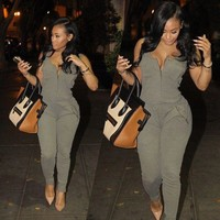 Womens Modern Sexy Casual Jumpsuit