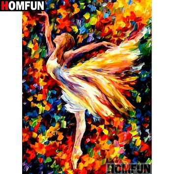 5D Diamond Painting Abstract Dancer Kit