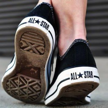 Women With Men Converse Fashion Canvas Flats Sneakers Sport Shoes-2