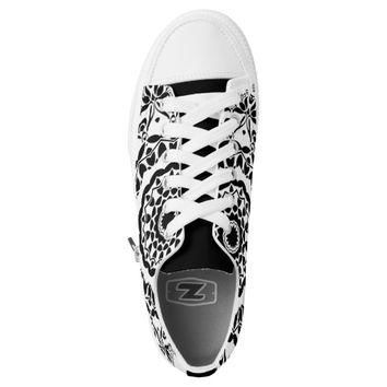 BOHO CHIC white Designer custom converse Sneakers Printed Shoes