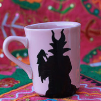 Maleficent Themed Evil Queen Mug