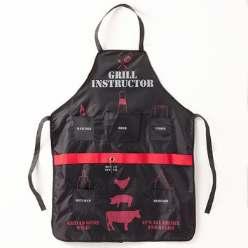 Wembley Grill Instructor Man Apron