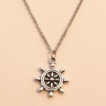 N969 Pendant Necklace Anchor Bijoux Women Men Jewelry Colars Fashion Jewelry Gift