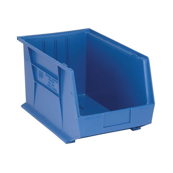 Quantum Storage Systems Ultra Stack And Hang Bin 18Lx 11W X 10H - Blue Pack Of 4