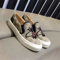 Gucci Women Men Casual Shoes Boots fashionable casual leather Women Heels Sandal Shoes created