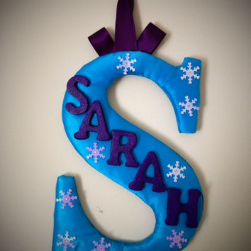 Frozen Personalized Initial with name