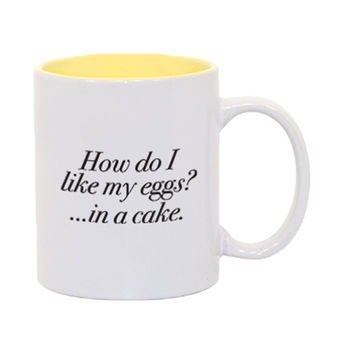 How Do I Like My Eggs? In A Cake Mug