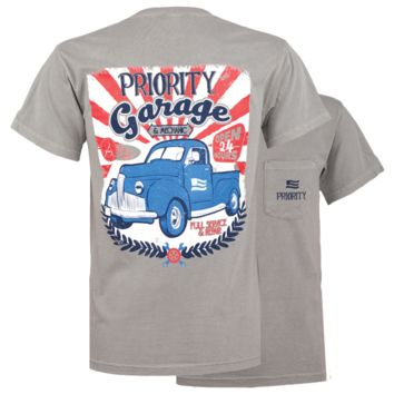 Southern Couture Priority Garage Truck Pocket Unisex T-Shirt