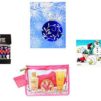 Victorias's Secret Coconut Passion w/ Bag & Snoopy Card & Hair Ties