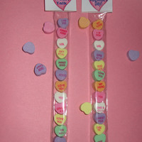 VALENTINE HEART CANDY,bag topper,wrapper,kids party,favor,bags included
