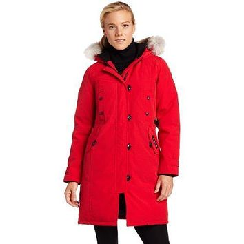 Canada Goose Women's Kensington Parka Coat| Best Deal Online