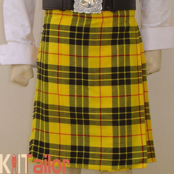 MACLEOD TRADITIONAL TARTAN KILT CUSTOM MADE
