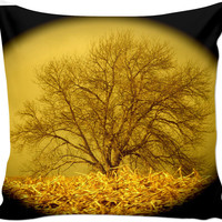 Rustic Tree Couch Pillow