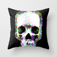 Trip to Death Throw Pillow by J.Lauren