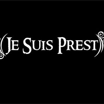 Je Suis Prest decal Scottish decal Highlander decal Celtic decal Gaelic decal custom vinyl sticker car decal window decal
