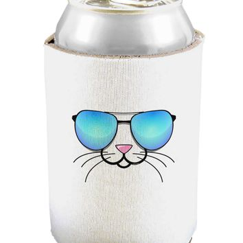 Kyu-T Face - Tiny Cool Sunglasses Can and Bottle Insulator Cooler