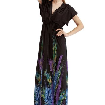 Chicloth Plus Size Dress San Francisco Feather