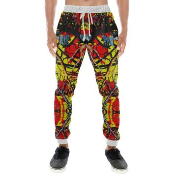 Country Boy Design 1 Men's All Over Print Casual Jogger Pants