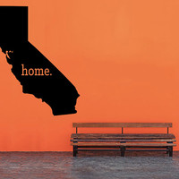 California Home Decal - Home Decor - Car Decal - USA - America - Indoor - Outdoor - Cottage - Perfect Gift - High Quality Vinyl Graphic