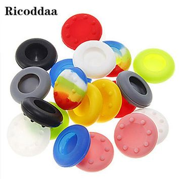 100PCS Silicone Analog Grips Thumb Stick For PS3 Handle Caps Cover For Sony Playstation 4 PS4 PS3 For Xbox 360/One Controllers