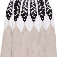 Peter Pilotto - Intarsia wool-blend sweater