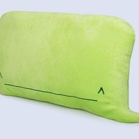 iPhone Whale Emoticon Throw Pillow