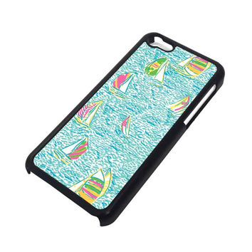 LILLY PULITZER SAILBOAT iPhone 5C Case