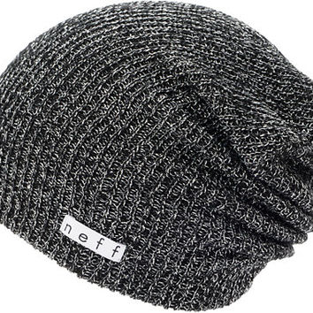 Neff Girls Daily Sparkle Black Beanie at Zumiez : PDP