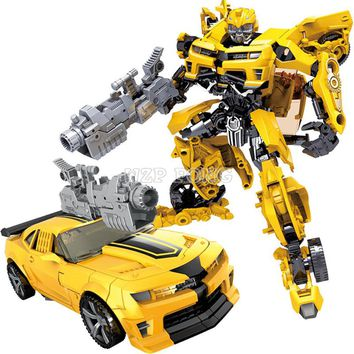 2 Style Children Robot Toy Transformation Anime Series Classic Toy Robot Car ABS Plastic Model Action Figure Toy Kids Gift