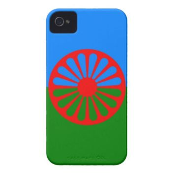 Gypsy flag iPhone 4 case