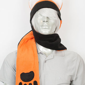 Fox Scarf Hat