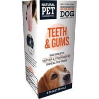 King Bio Homeopathic Natural Pet Dog - Teeth and Gums - 4 oz