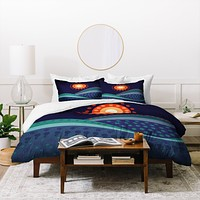 Viviana Gonzalez Summer Night Duvet Cover