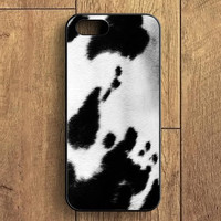 Cow Skin Spot iPhone 5 Case