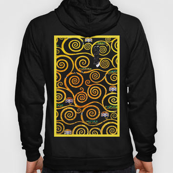 Art Nouveau Tree of Life - Gustav Klimt Hoody by BeautifulHomes | Society6