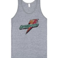 Swaggerade (vintage tank top)-Unisex Athletic Grey Tank