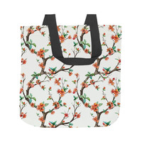 Cheery Cherry Blossom Tote Bag