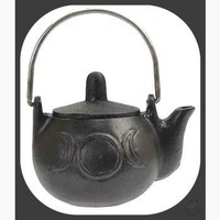 Triple Moon Cast Iron Kettle