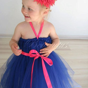 Sapphire tutu – empire waist tutu – girl tutu dress – baby tutu dress – wedding tutu dress – party tutu dress – birthday tutu dress – tutu