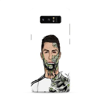 CRISTIANO RONALDO-REAL MADRID ROBOT Samsung Galaxy Note 8 Case