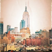 NYC Vintage style Art Print by Love2Snap | Society6